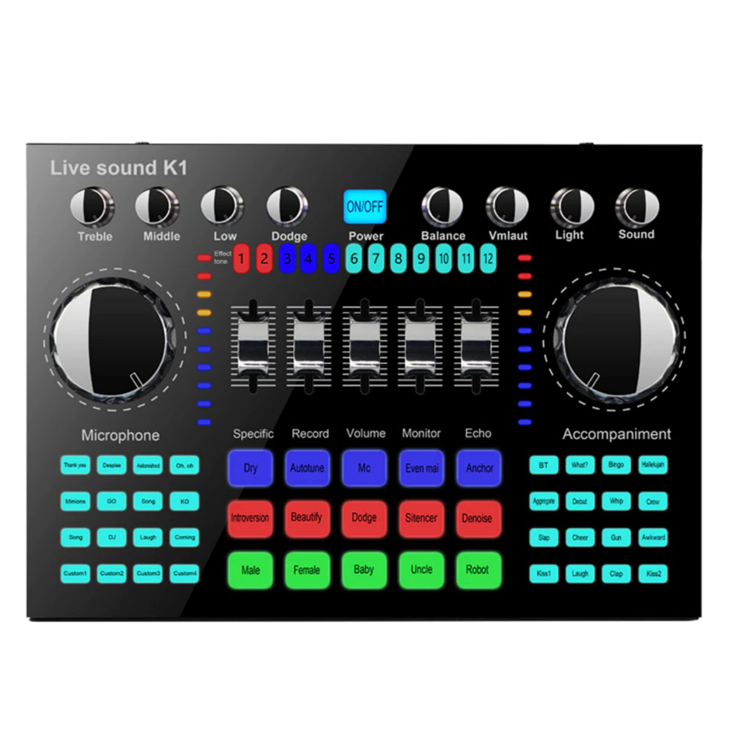 affordable Audio Mixer Board