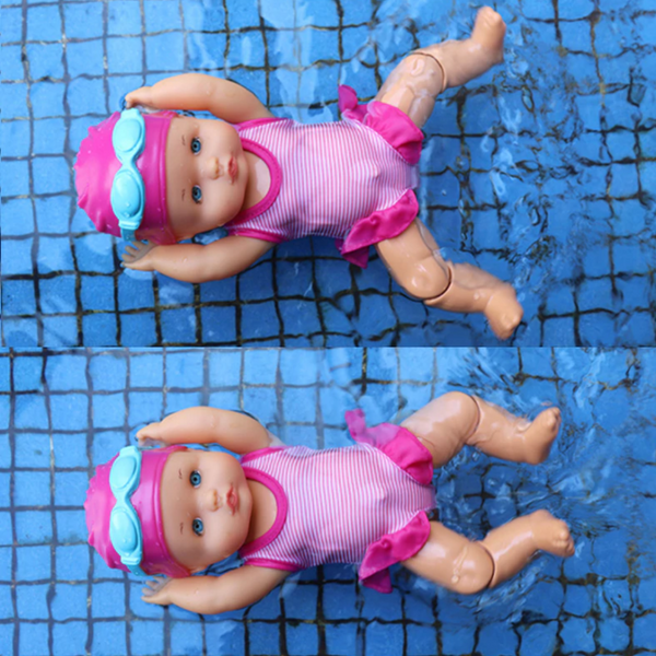 baby swimming doll