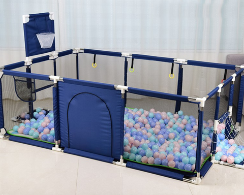 large playpen baby