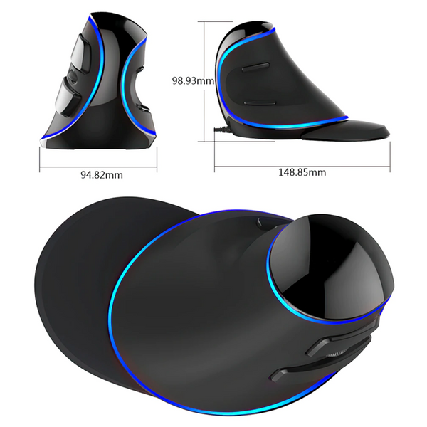 best vertical mouse for gaming