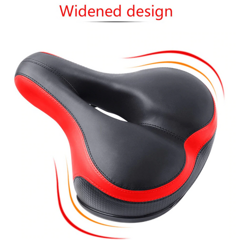 best wide bike seat