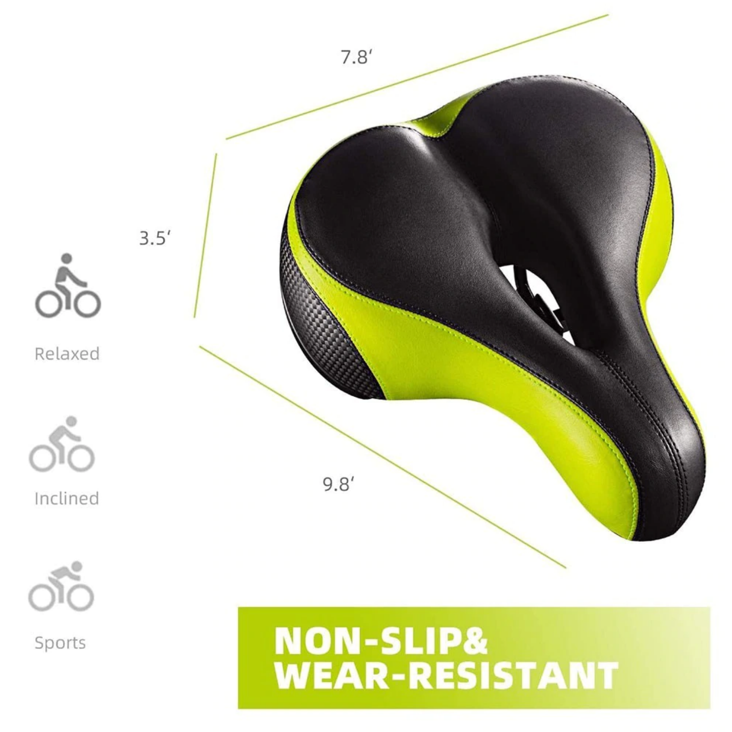 bike seats for women wide