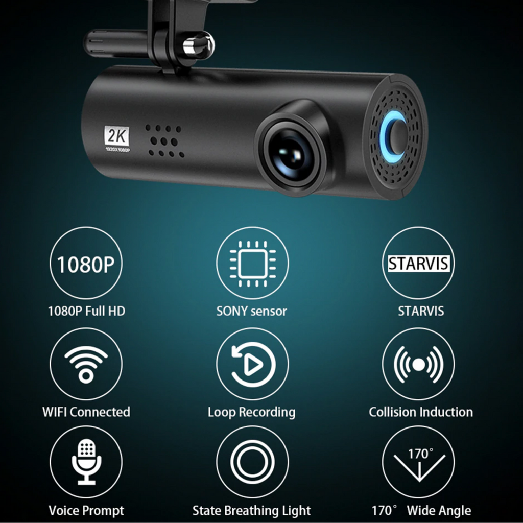dash cam with wifi