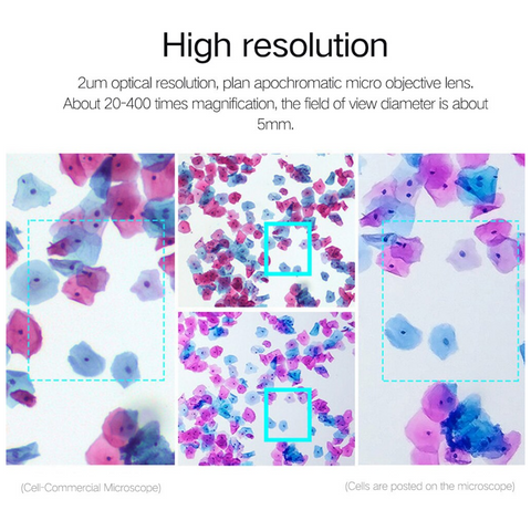 high resolution microscope for phone