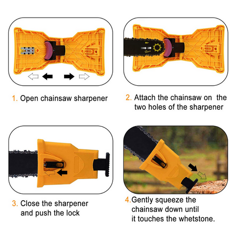 how to sharpen chainsaw chain
