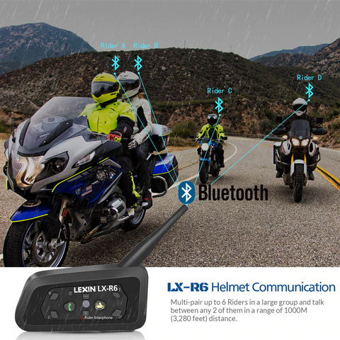 intercom system for motorcycle