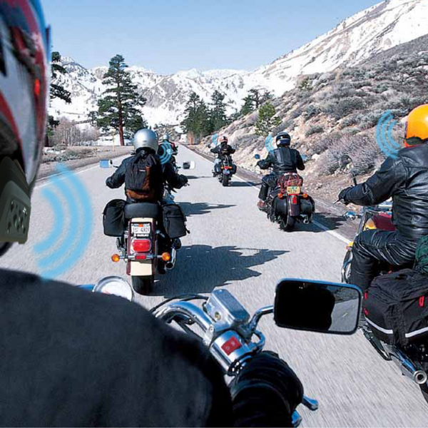 intercom system for motorcycles