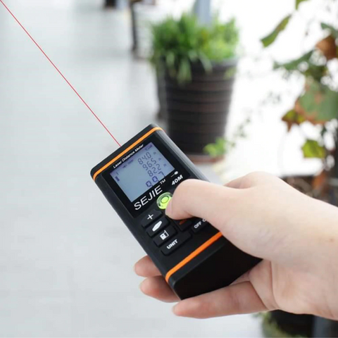 laser distance measuring device