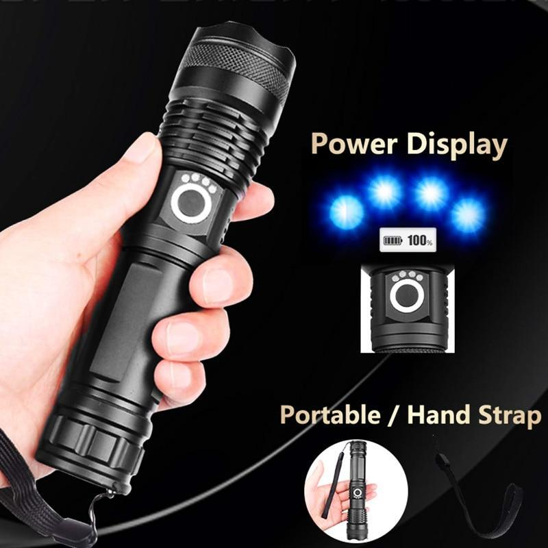 Flashlights with High Lumens Tactical Flashlight Rechargeable Flashlights