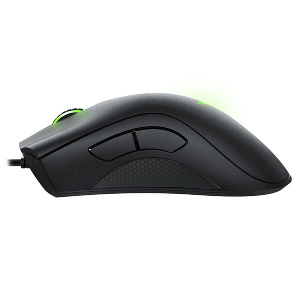 black razer wired gaming mouse