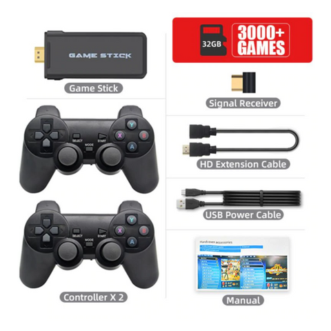retro video games consoles 3000 games
