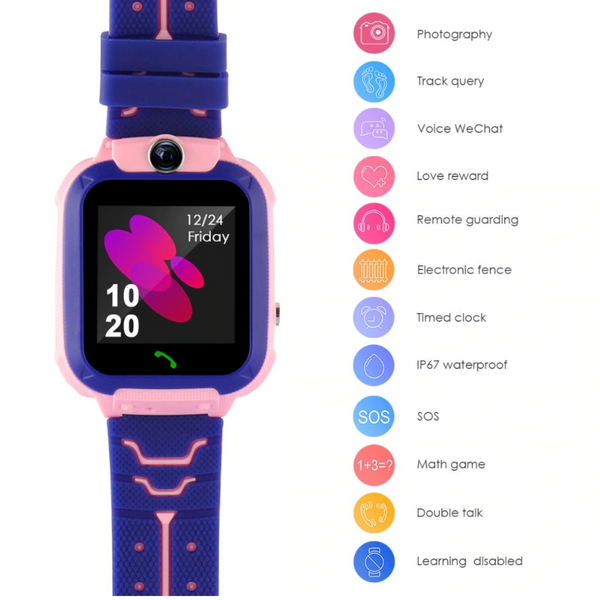 kids smart watch tracker