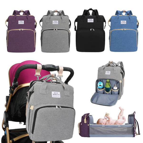 travel bassinet diaper bag