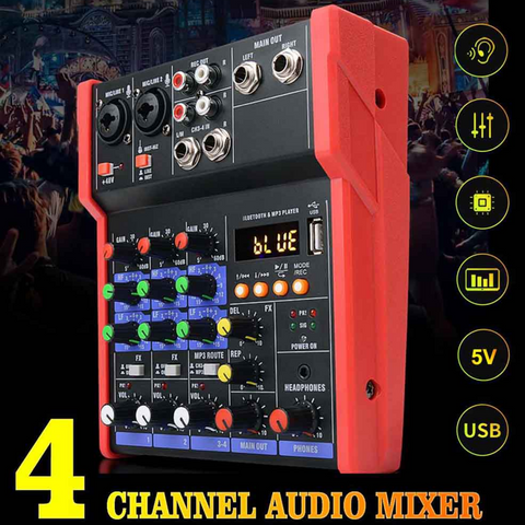 usb audio interface 4 channel