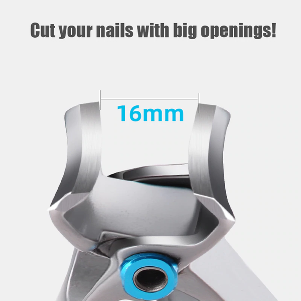 Wide Jaw Nail Clippers Thick Nails Ingrown Tough Nails 15mm Opening