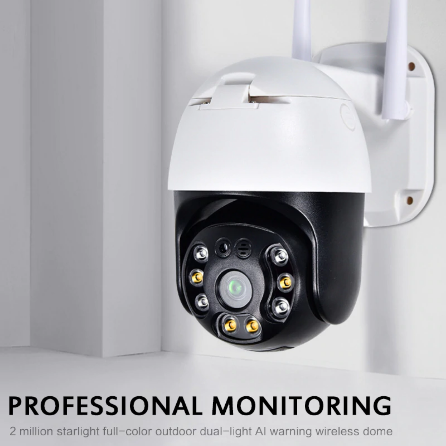 wired outdoor security cameras