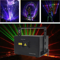 Laser Party Lights RGB 3 Lens DJ Disco Stage Laser Lights Sound Activated Led Projector for Christmas Halloween Decorations Gift Birthday Wedding Karaoke KTV Bar