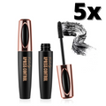 4D Mascara Voluminous Eyelashes Waterproof Silk Fiber Lash Luxuriously