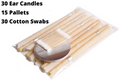 Ear Wax Candling Kit Natural Ear Wax Removal