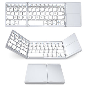 silver wireless keyboards bluetooth