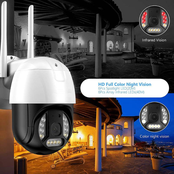 wifi home camera security system
