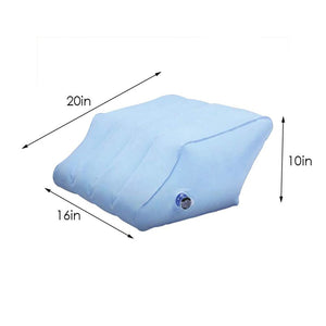 Inflatable Leg Wedge Pillow Contour 2-in1 Inflatable Leg & Knee Relief