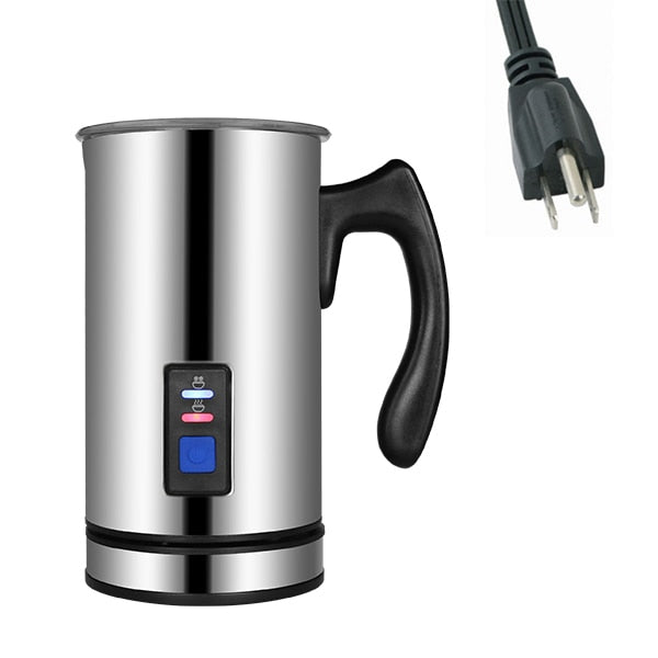 electric milk frother and warmer