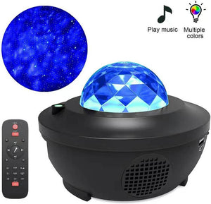 Star Projector Night Light LED Starry Sky Projection