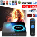Android TV Box T95 Smart Box Android TV 10.0 Quad Core 6K HDMI WIFI