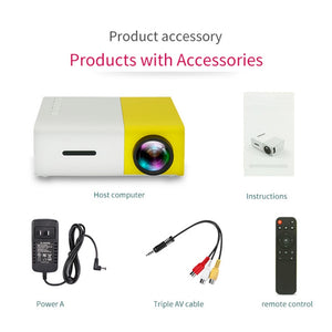 Mini HD LED Pocket Portable Mini Projector