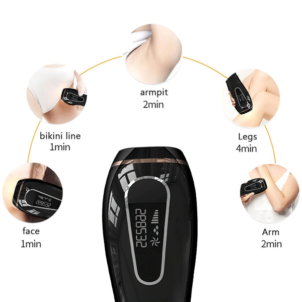 IPL Hair Removal Device at Home