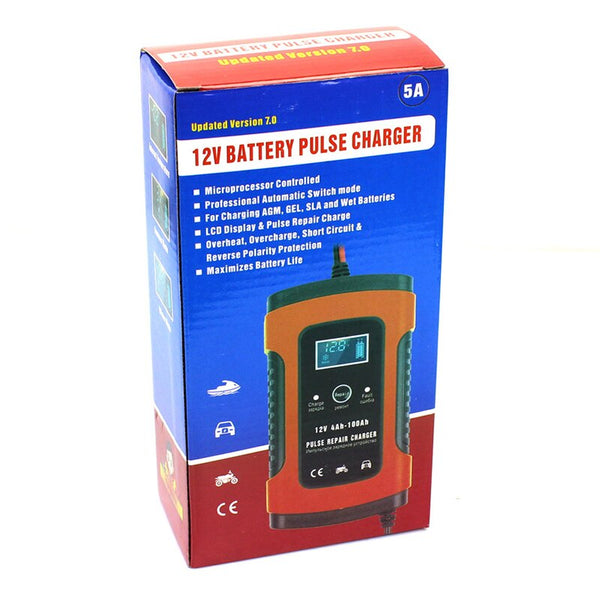 battery charger for motorcycles