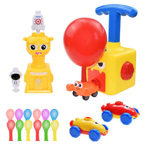 Balloon Powered Cars Toy for Kids STEM Educational Science Toys