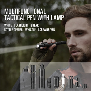 tactical pen flashlight