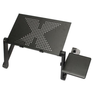 Portable Adjustable Aluminum Laptop Desk Stand Table Vented Ergonomic