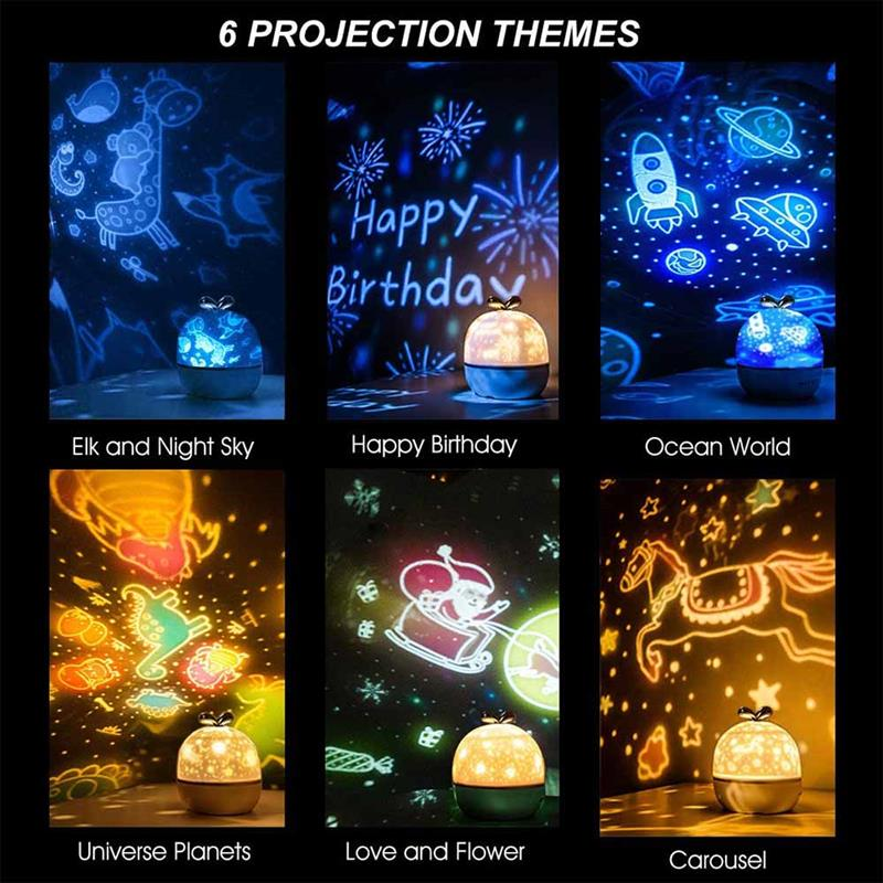 projector night lights for kids