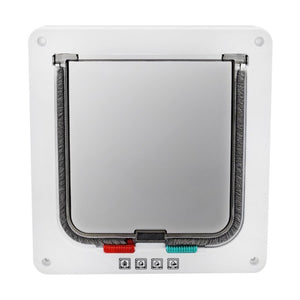 Cat and Dog Flap Door with 4 Locking System