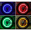 LED Light Tire Valve Cap Bicycle Flash Light Mountain Road Bike Cycling Tyre Wheel Lights LED Neon Lamp Cover Wheel