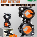 Bike Light Mounting Bracket Quick Release Mount