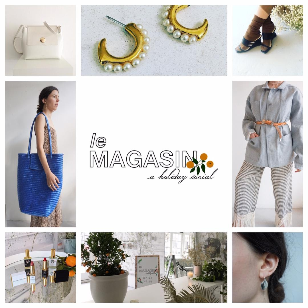 Sample Sale Event Le Magasin Pop Up located at Lucas Lucas Gallery