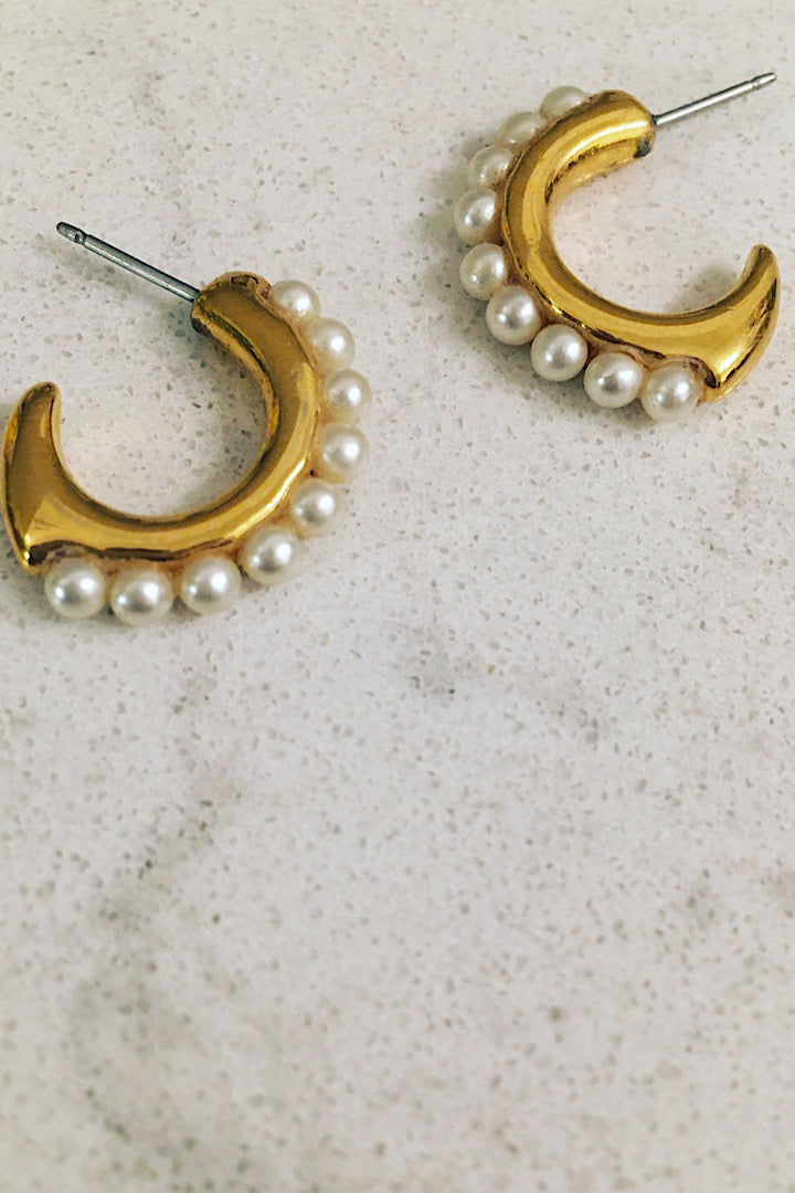 Pearlette earrings