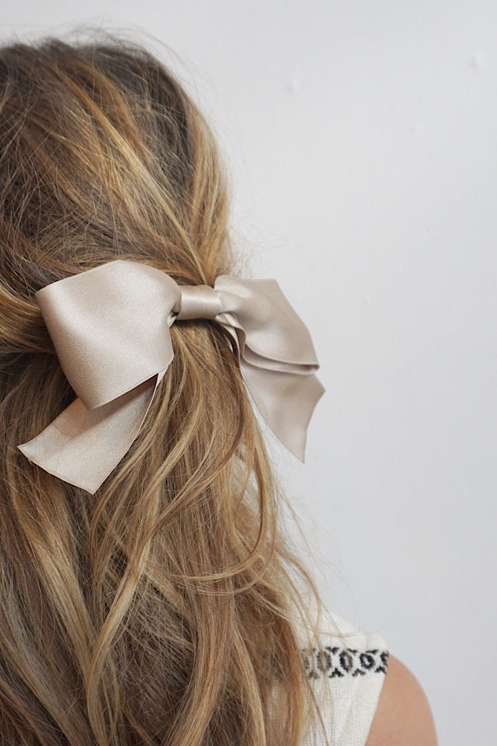Silk Hair Bow