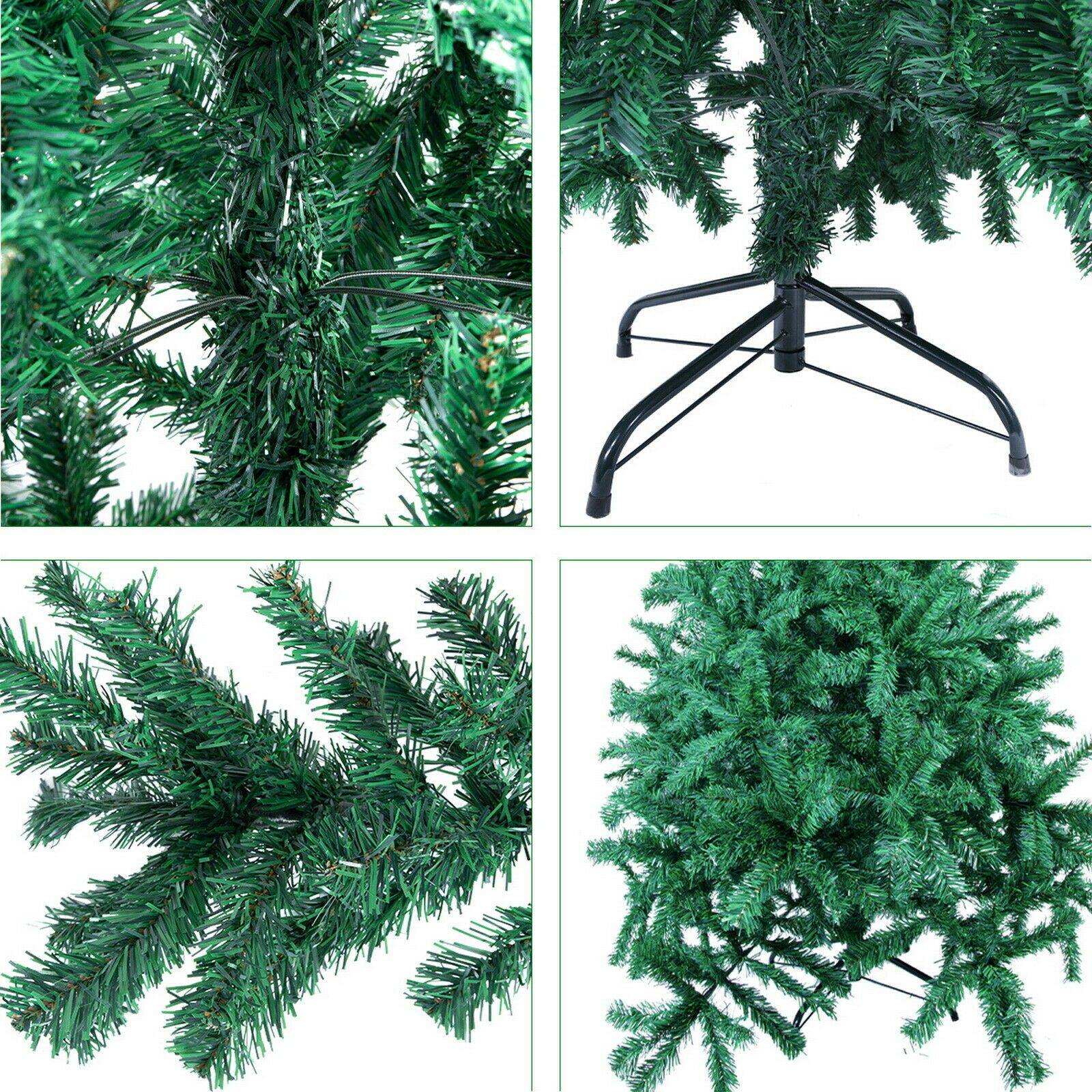 6ft Waterproof Green 700 Pines Artificial Christmas Xmas Tree With 300 LED Warm White Lights - Until Times Up