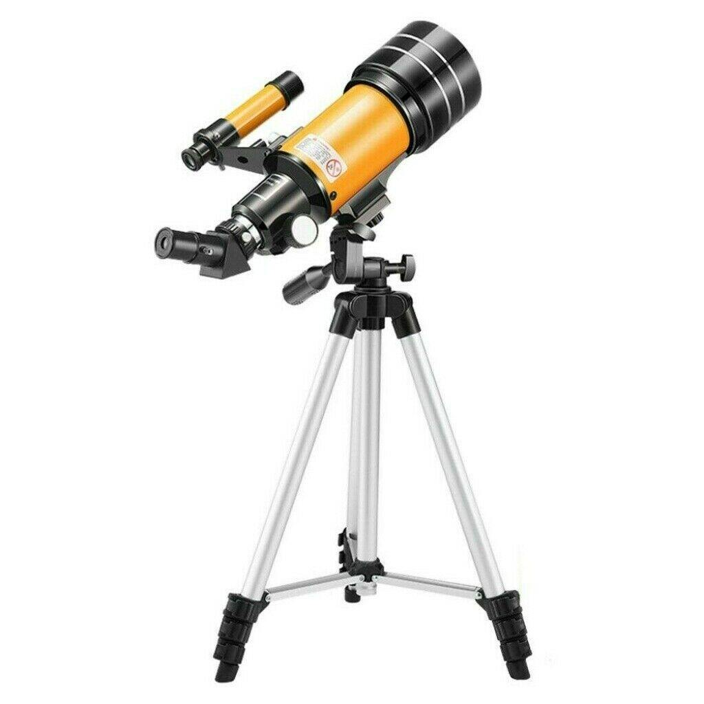 Best Kids Telescope 70mm Refractor With Tripod - Until Times Up