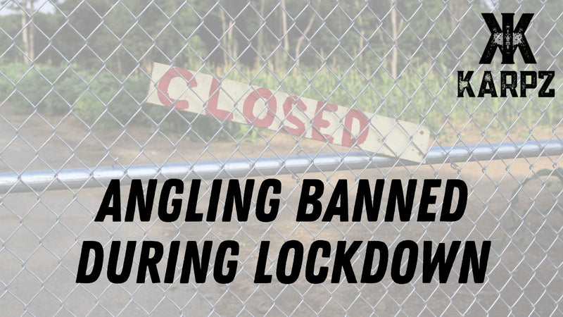 Angling Banned in England During Lockdown - UPDATED 8th January