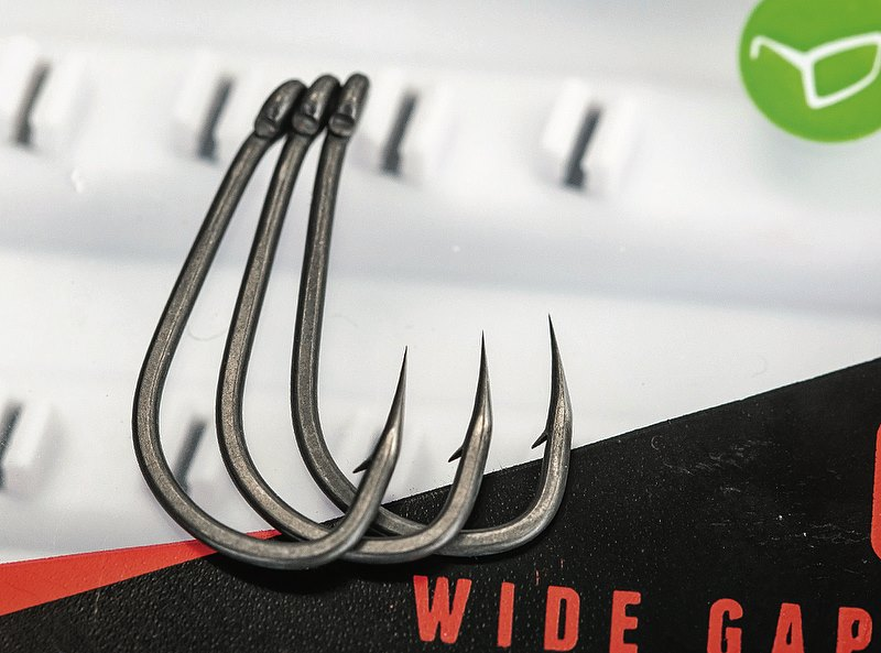 Korda Kamakura Sharpened Wide Gape Hook