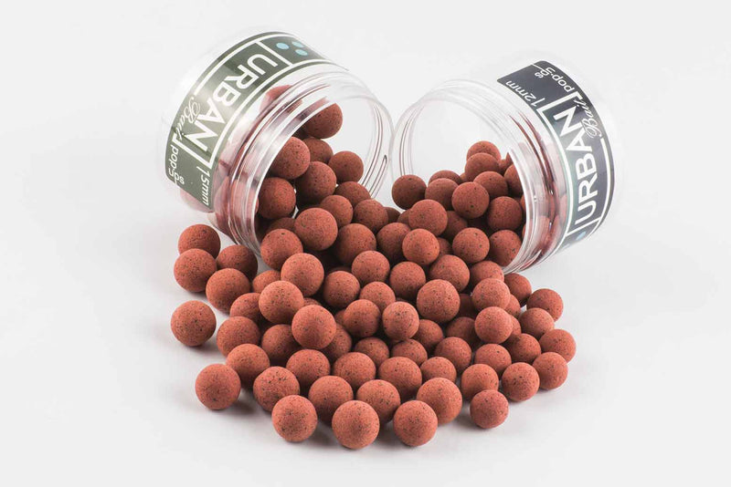 Red Spicy Fish Normal Washed Out Pop Ups 15mm - Urban Bait