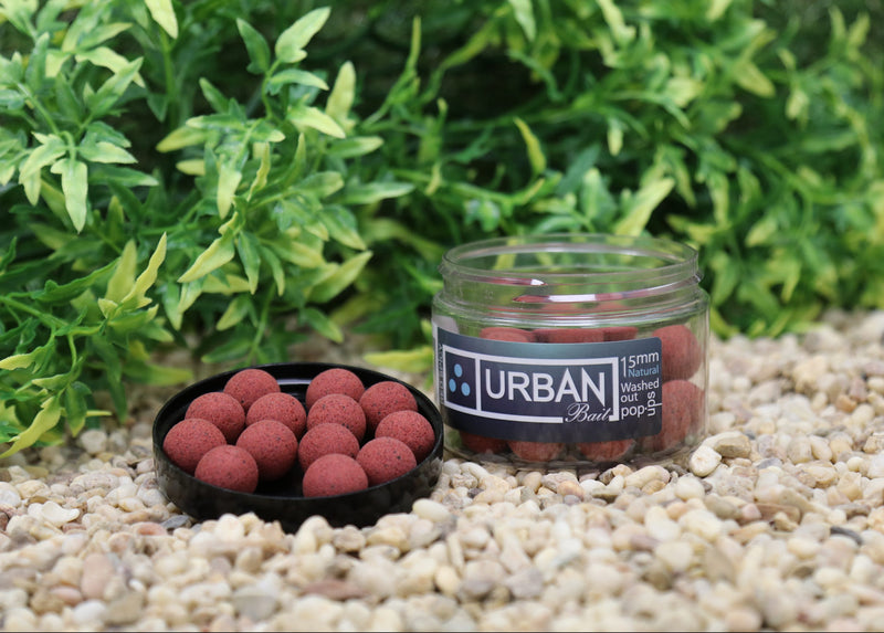 Red Spicy Fish Natural Pop Up 15mm - Urban Bait