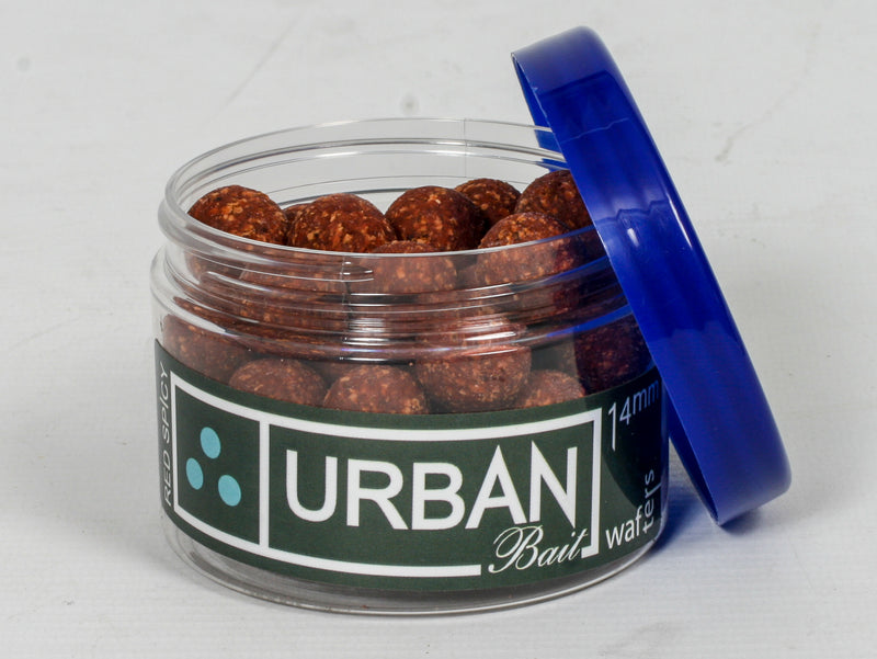 Red Spicy Fish Wafters 14mm - Urban Bait