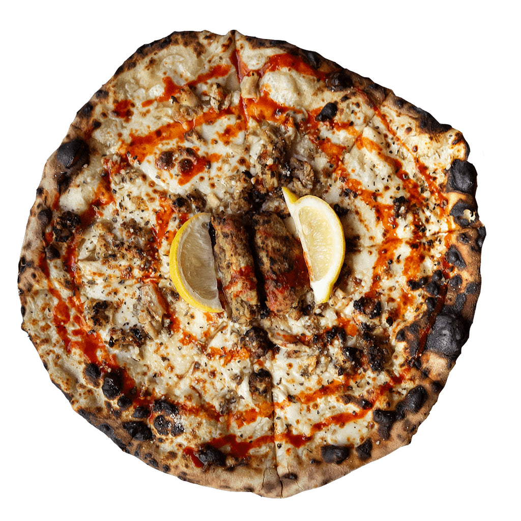 Hot Lemon Pepper Pizza